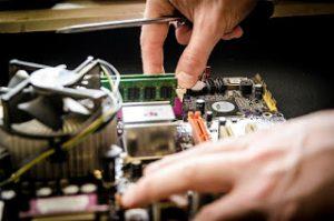 Procedimiento de mantenimiento de una computadora