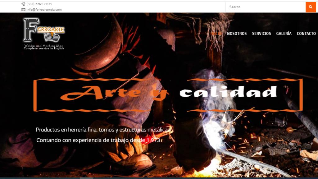 Portafolio Web #XelaGlobal-FerroarteXela