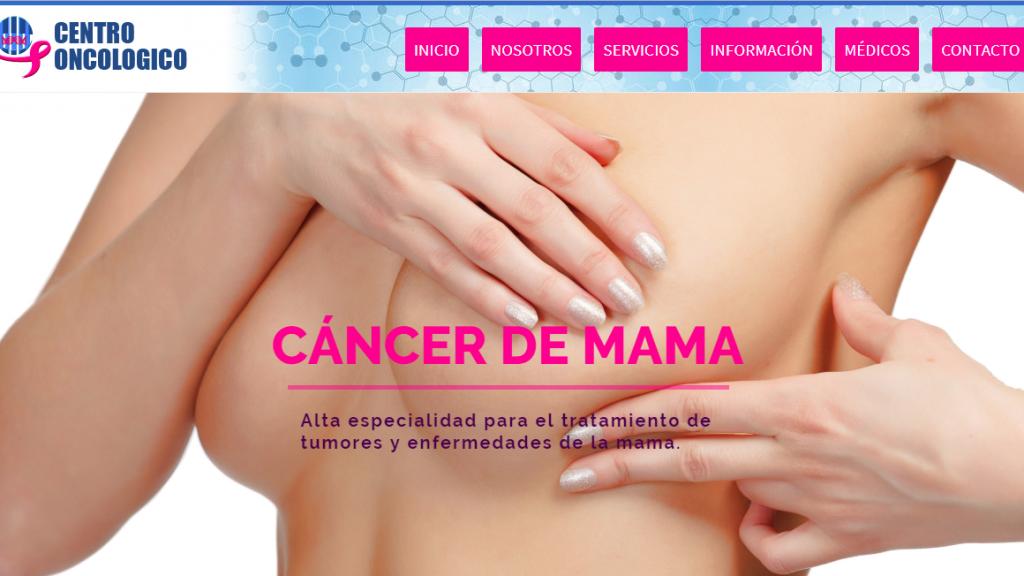 Portafolio Web #XelaGlobal - Centro Oncológico