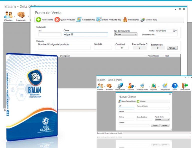 Software de inventario y facturación Balam